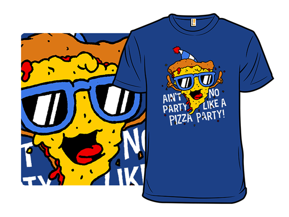 Pizza Party T Shirt