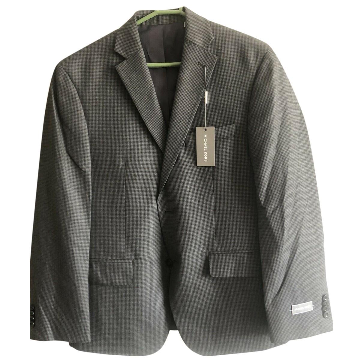 Michael Kors - Vestes.Blousons   pour homme en coton - gris