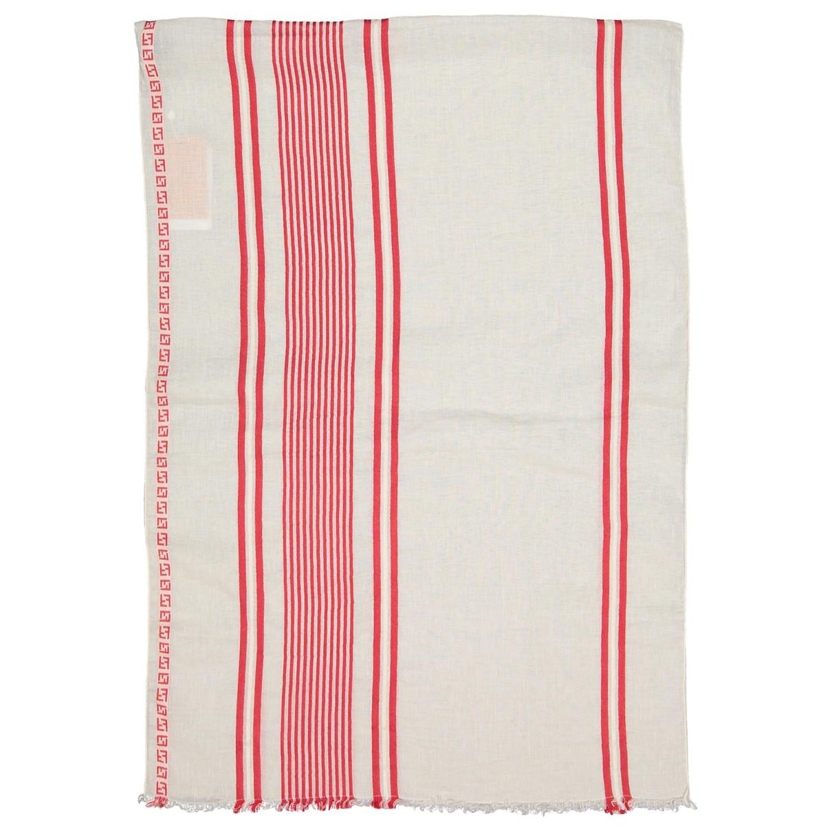 Fendi \N Ecru Cotton scarf for Women \N