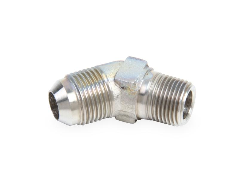 Earl's Performance SS982388ERL 45 DEG. -8 TO 1/2 NPT ADAPTER STAINLESS