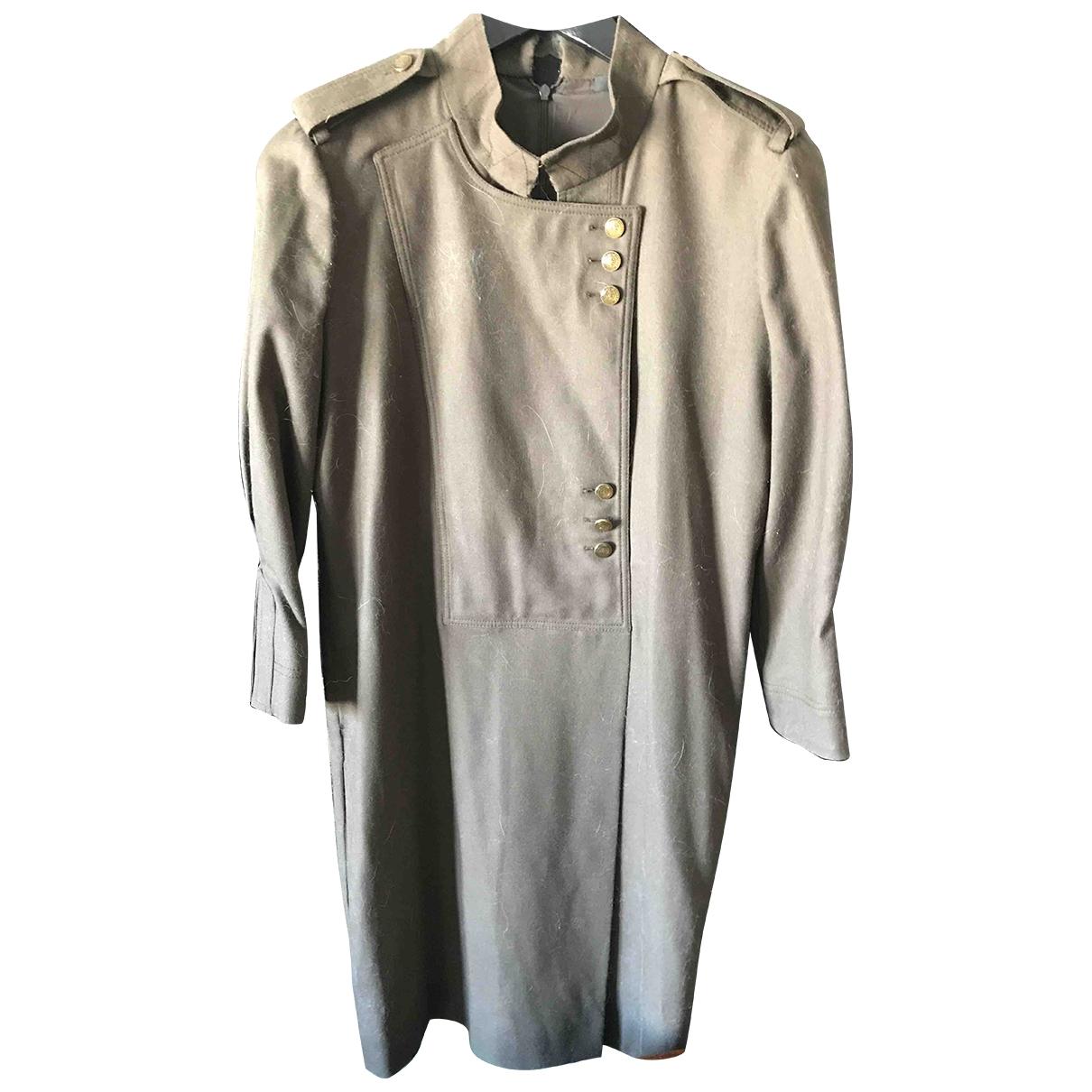 Gucci \N Khaki Wool dress for Women 40 IT