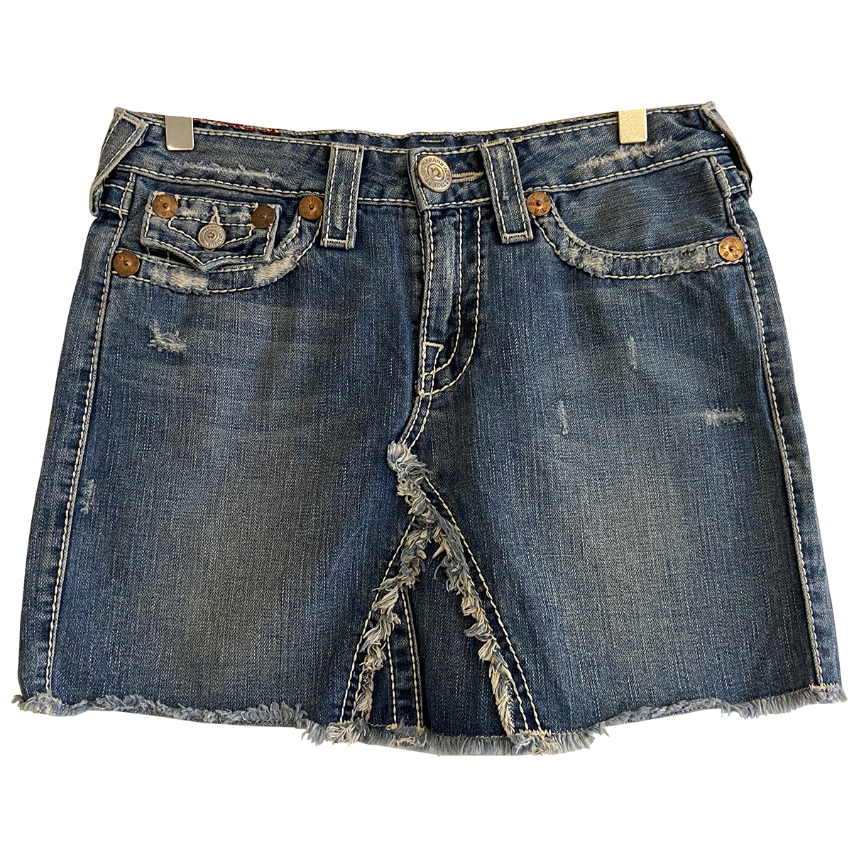 True Religion \N Rocke in  Blau Denim - Jeans