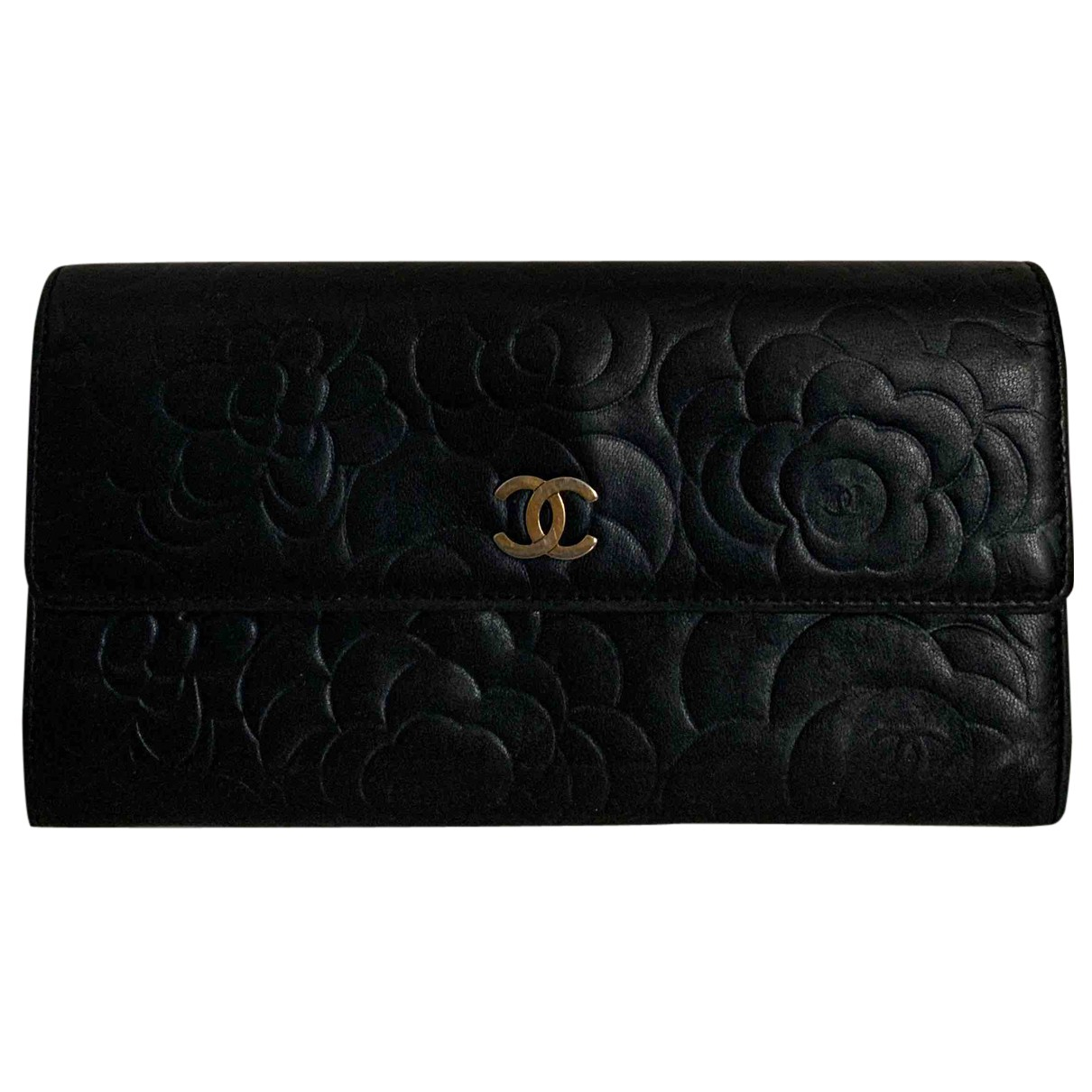 Chanel N Blue Leather wallet for Women N