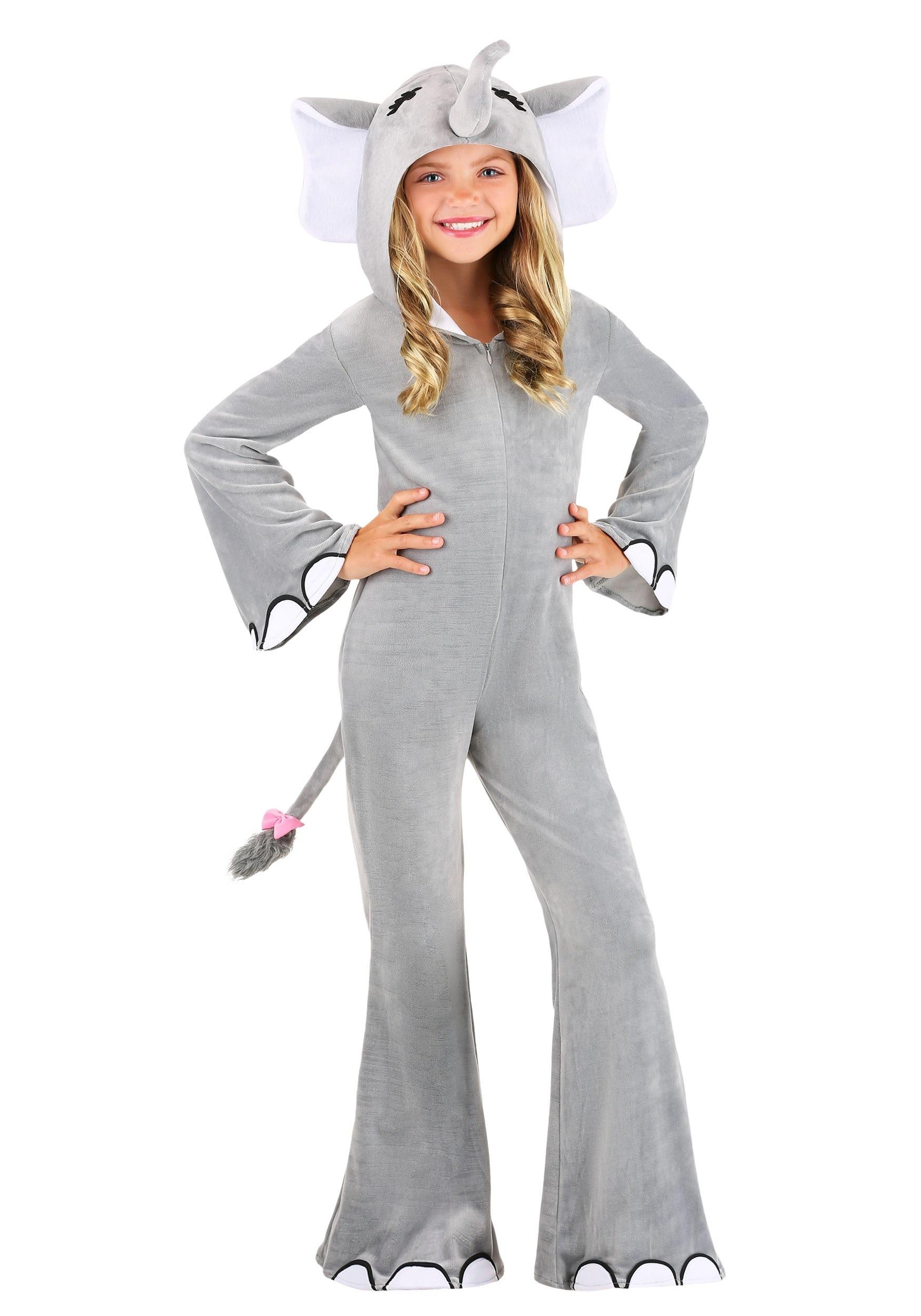 Wild Elephant Kids Costume