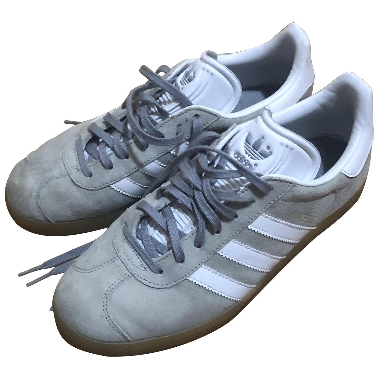 Deportivas Gazelle de Cuero Adidas