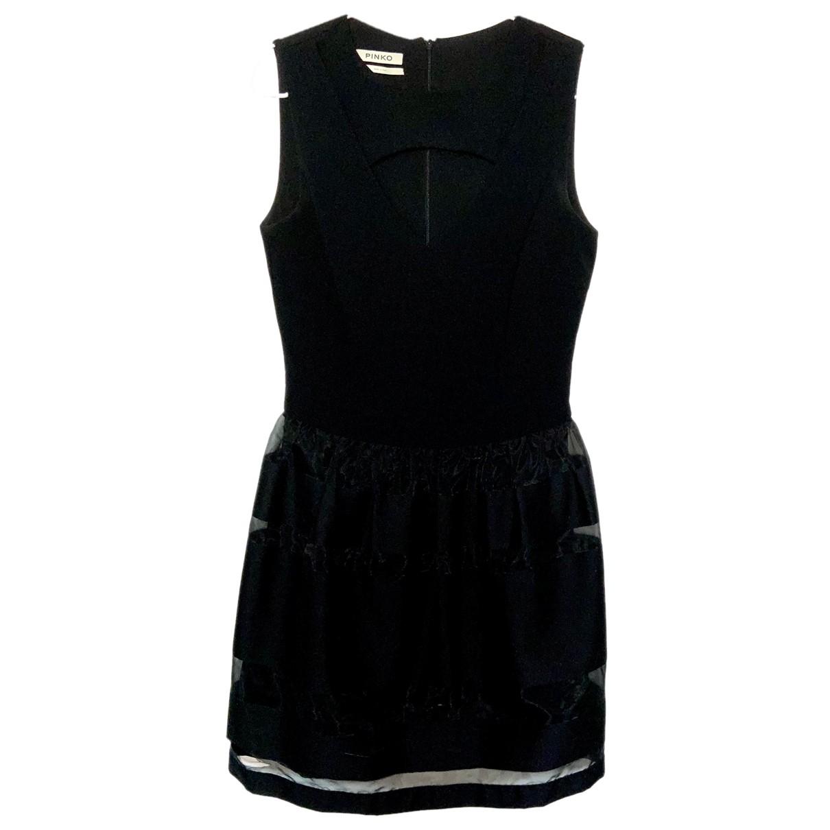 Pinko N Black Cotton dress for Women 40 IT