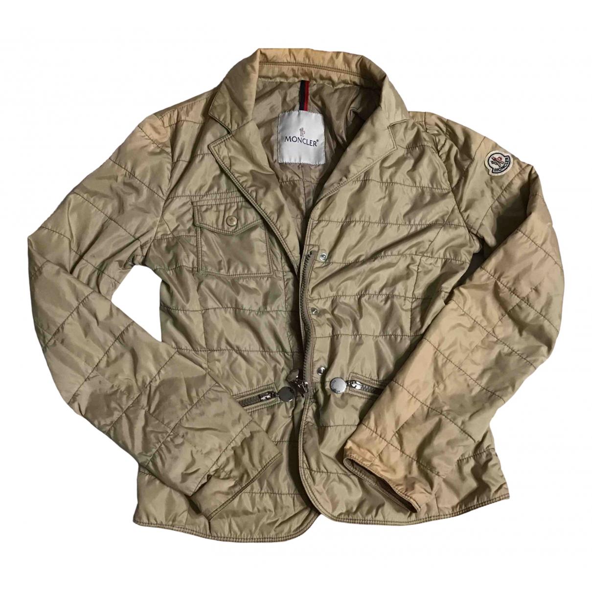 Moncler Classic Beige jacket for Women 0 0-5