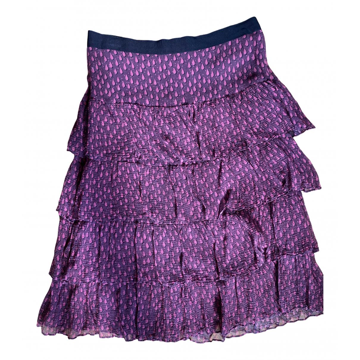 Burberry - Jupe   pour femme en soie - rose