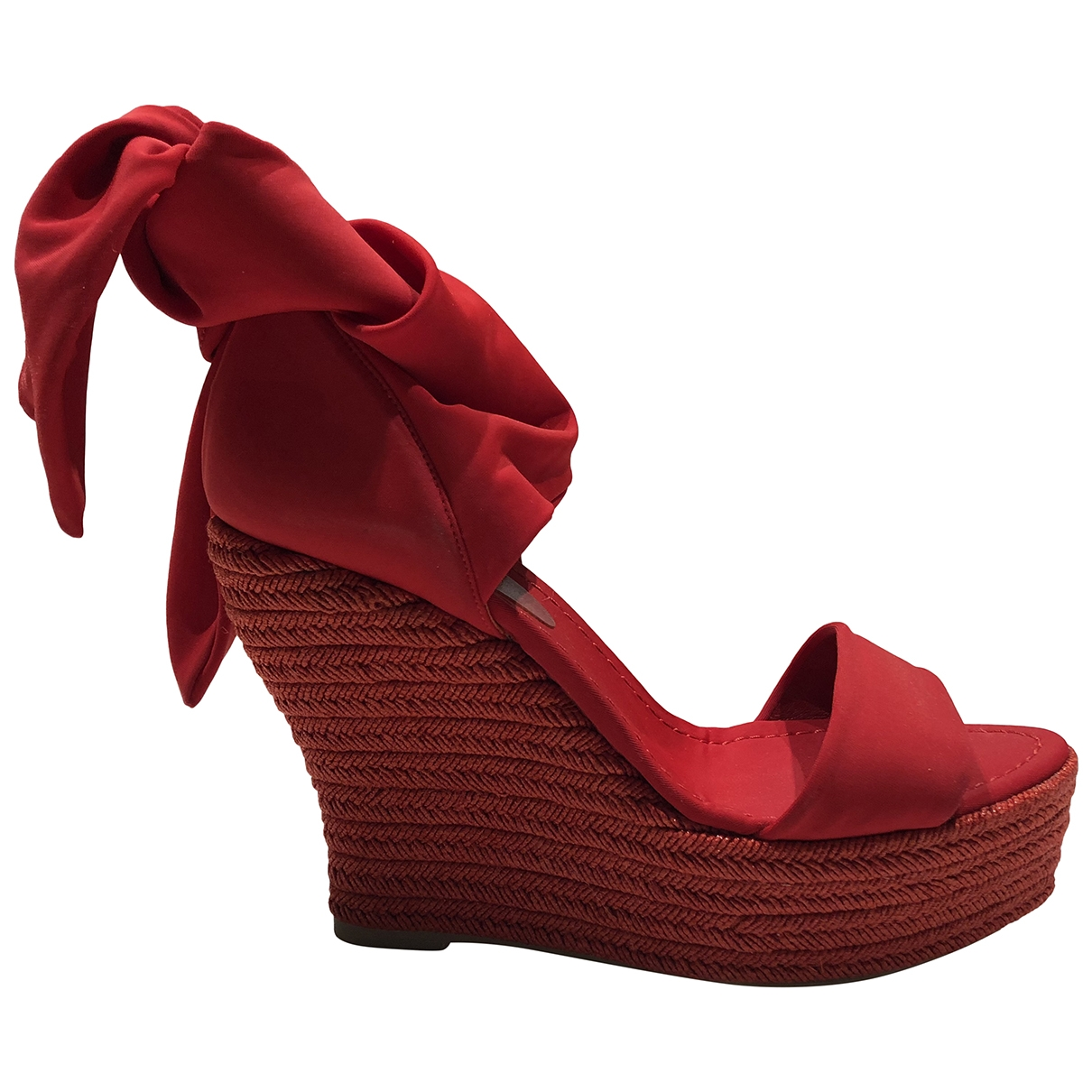Castaner \N Espadrilles in  Rot Synthetik