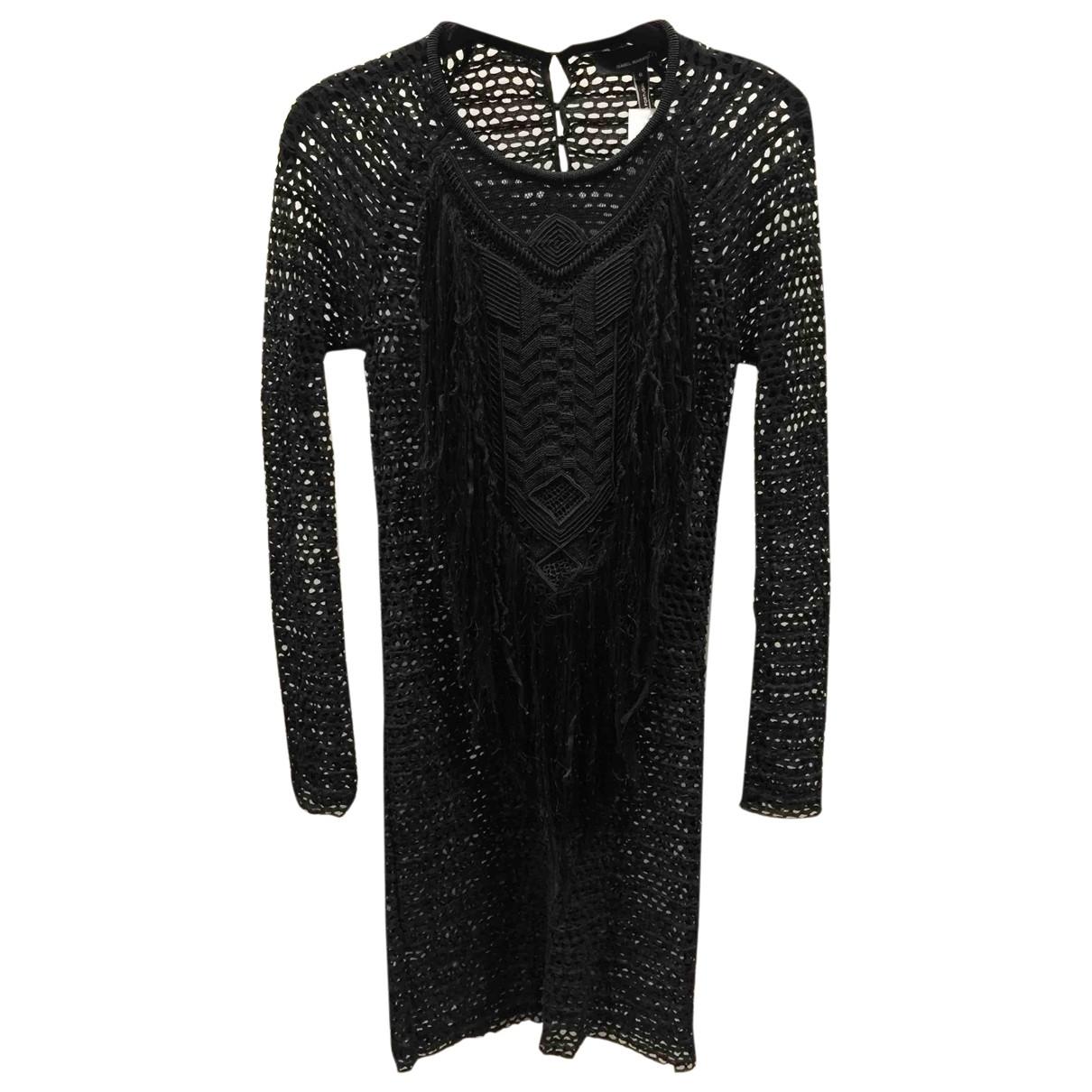 Isabel Marant \N Black Cotton dress for Women 0 0-5