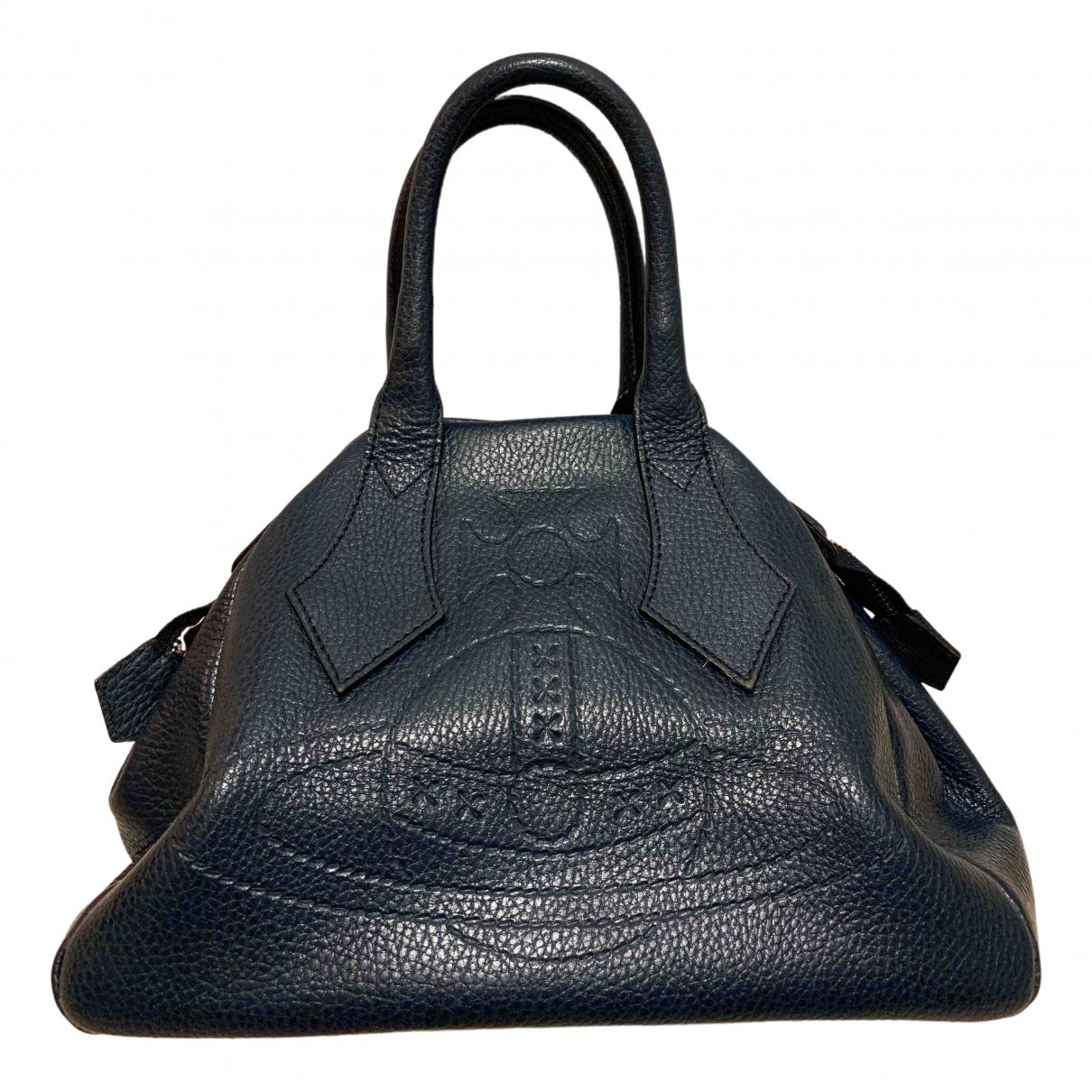 Vivienne Westwood \N Blue Leather handbag for Women \N