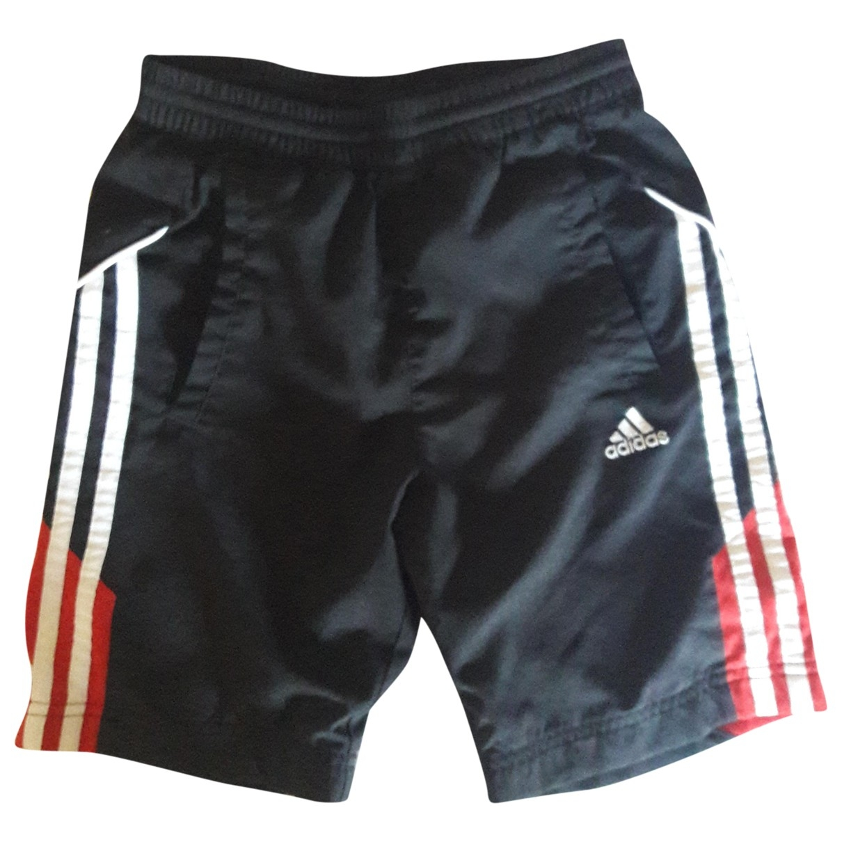 Adidas - Short   pour enfant - noir