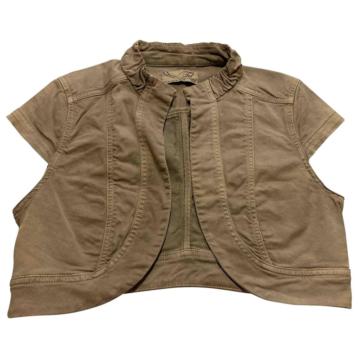 Zara \N Grey Cotton jacket for Women M International