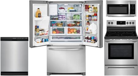 4-Piece Kitchen Appliance Package with FFHD2250TS 36