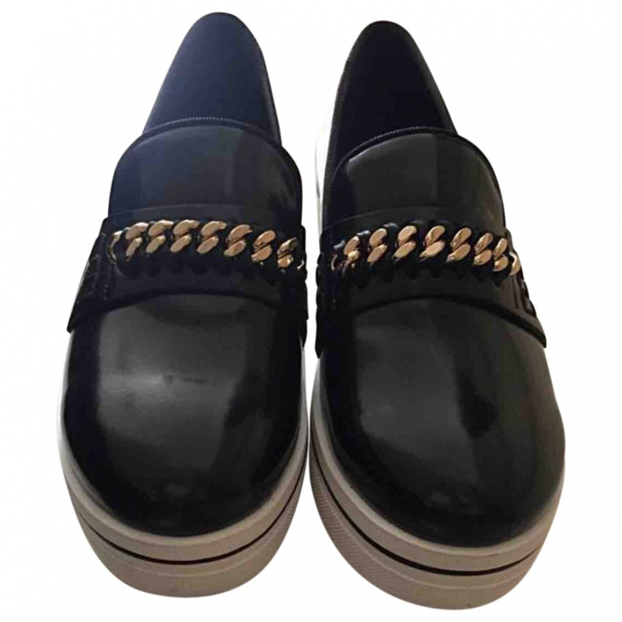 Stella Mccartney Binx Black Cloth Trainers for Women 37 EU