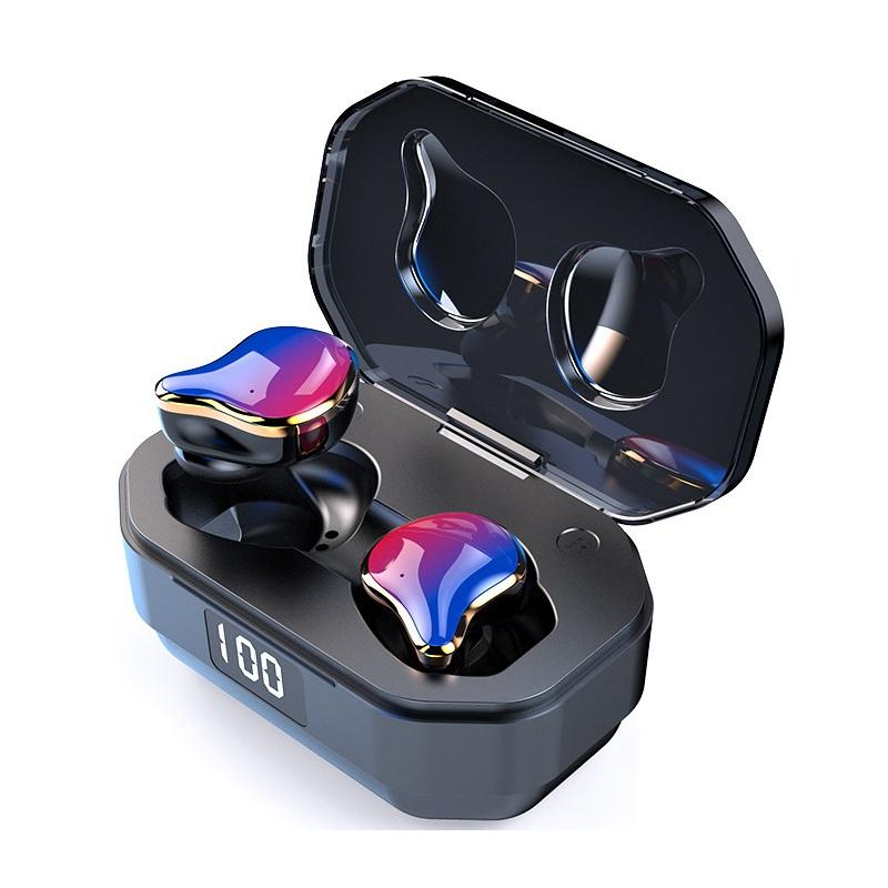 Bakeey G01 TWS bluetooth 5.0 Earphone Gradation Graphene HiFi Heavy Bass Stereo Smart Touch 2000mAh IPX7 Waterproof Head
