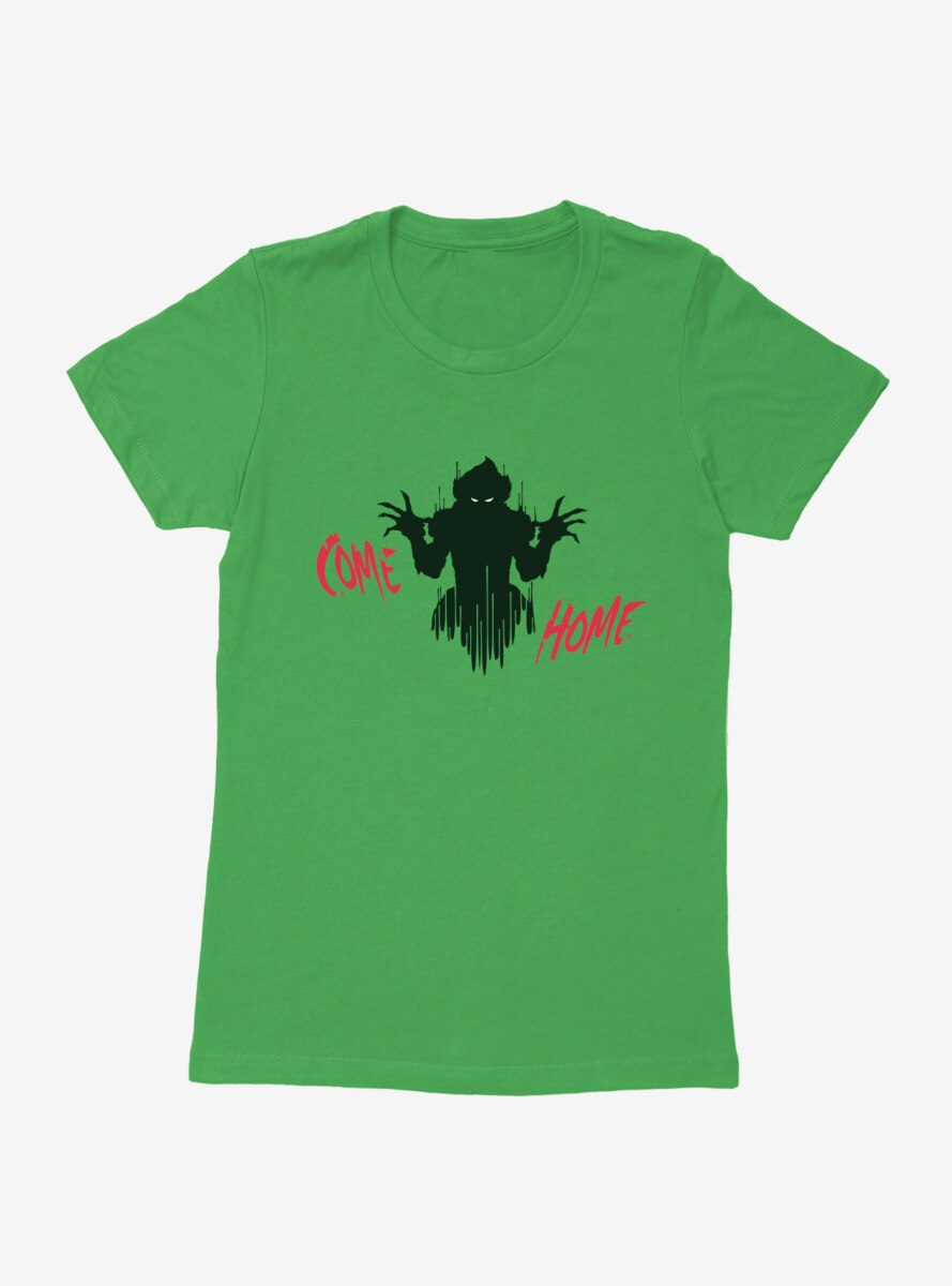 IT Chapter Two Pennywise Shadow Come Home Red Script Womens T-Shirt