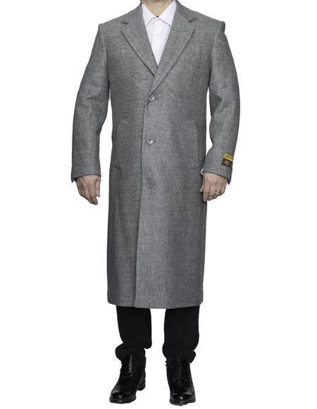 Mens Big And Tall Trench Coat Overcoat Topcoat 4XL 5XL 6XL Light Grey