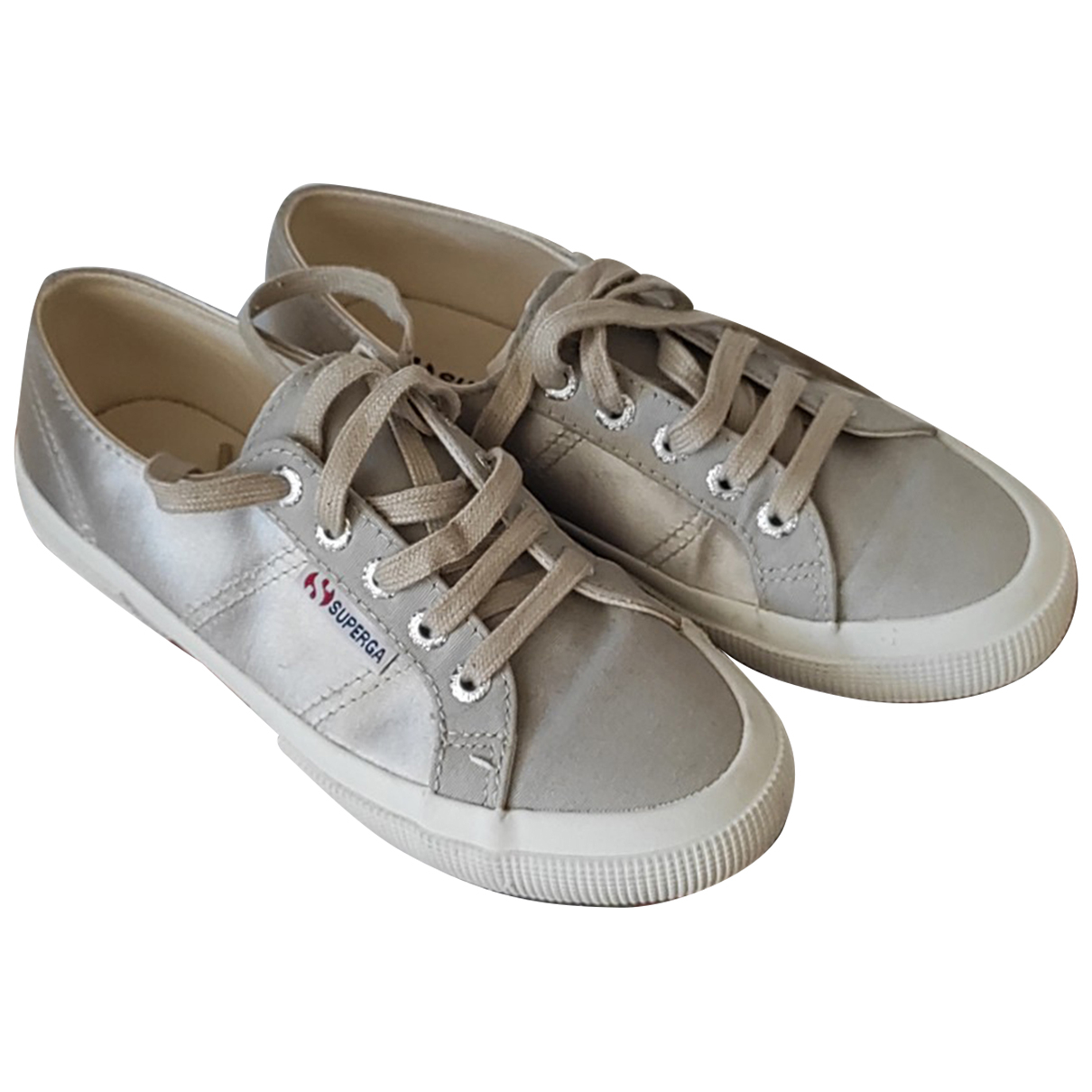 Superga \N Sneakers in  Beige Leinen
