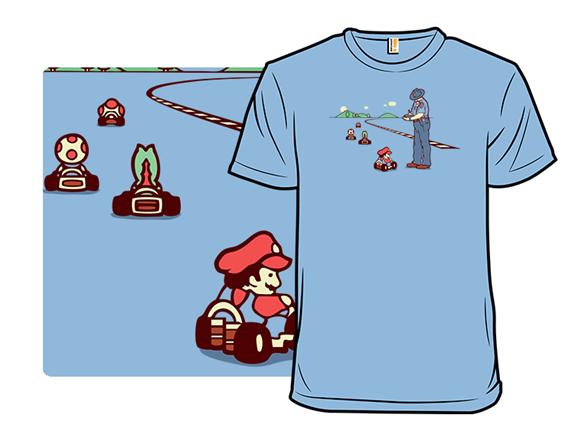 Kart Cop T Shirt