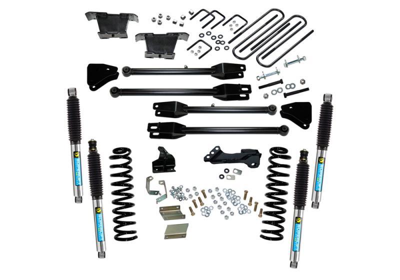 Superlift K236B 4 Lift Kit - 11-16 F250/F350 4WD - Dsl w/ 4-Link Conversion & Bil Shocks Ford F-250 2015-2016