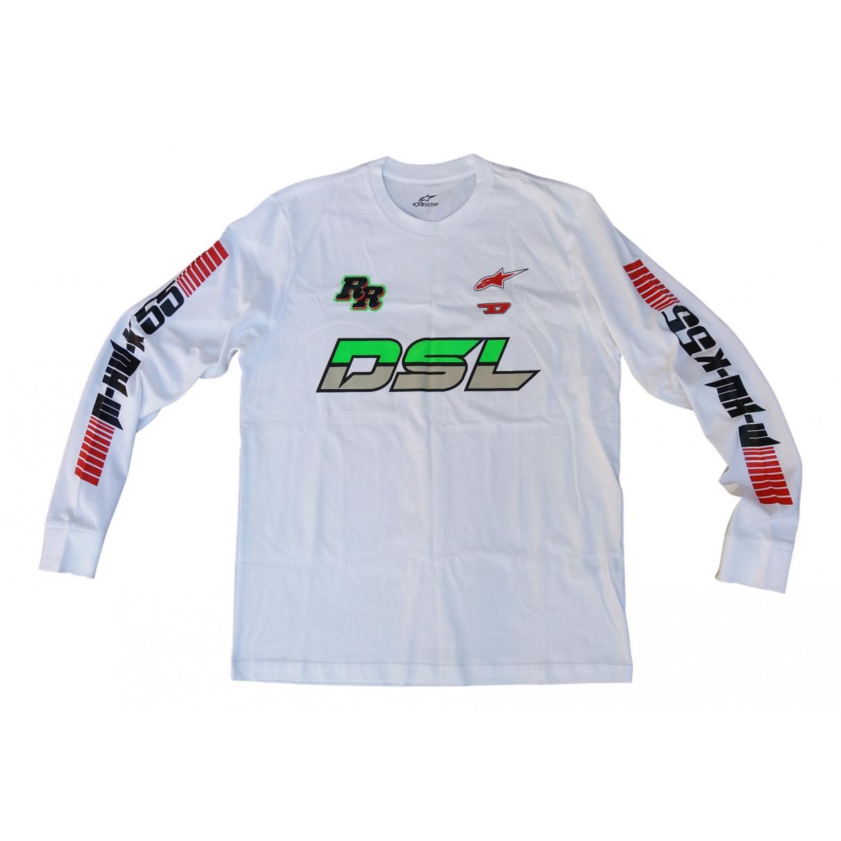 Diesel \N Pullover.Westen.Sweatshirts  in  Weiss Baumwolle