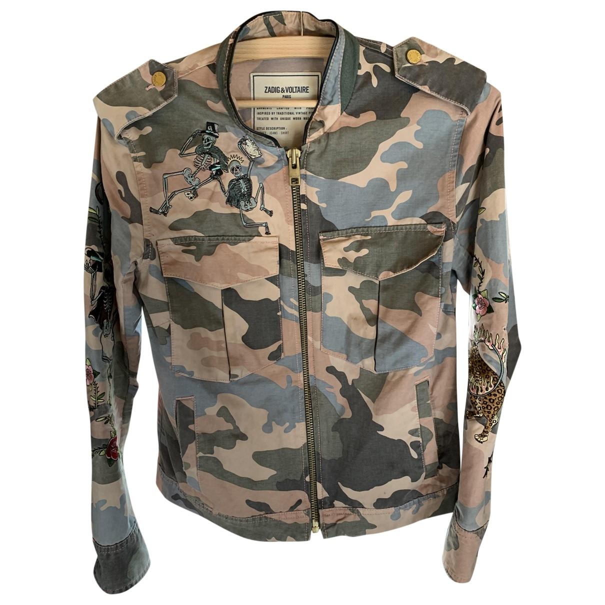 Zadig & Voltaire \N Denim - Jeans jacket for Women 34 FR