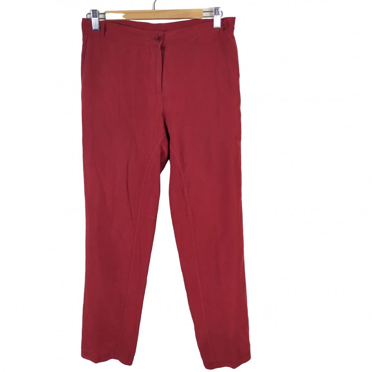 Pantalon zanahoria de Seda Non Signe / Unsigned