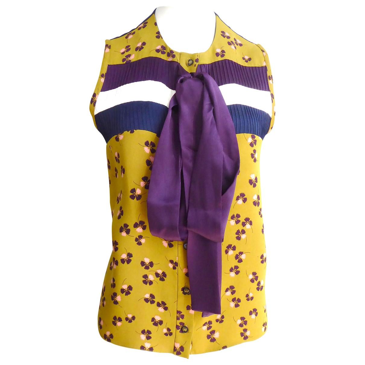Roksanda \N Multicolour Silk  top for Women S International