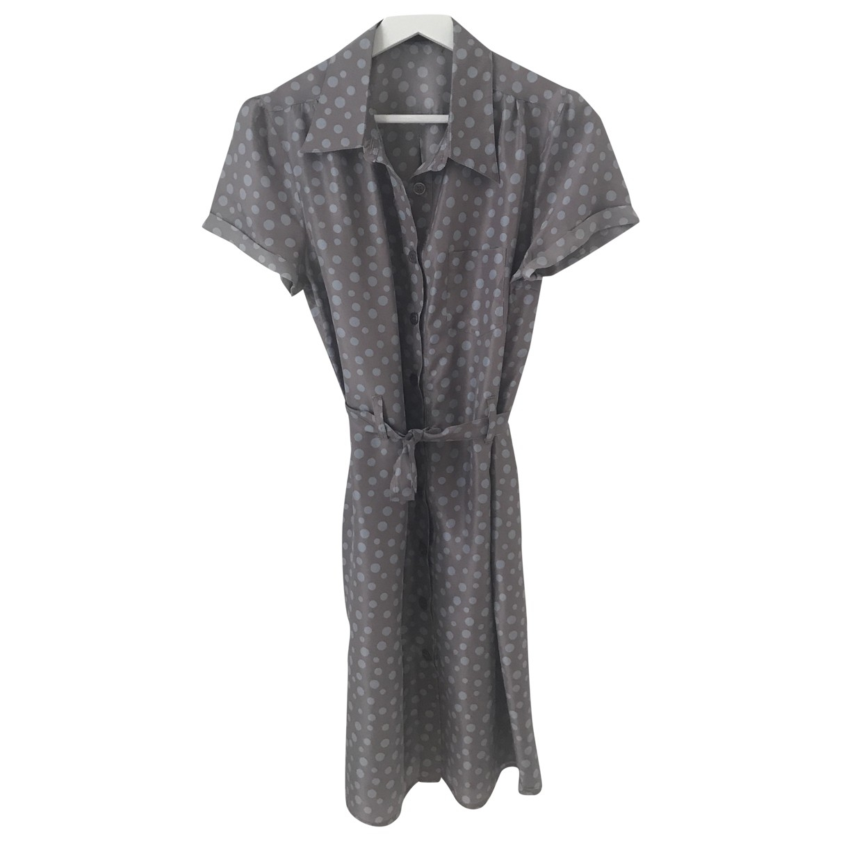 Non Signé / Unsigned \N Silk dress for Women 40 FR