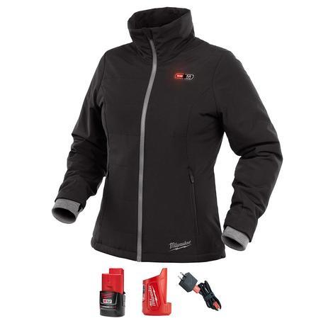 Milwaukee *Open Box Item* M12 Women's Heated Softshell Jacket Kit M (Black)