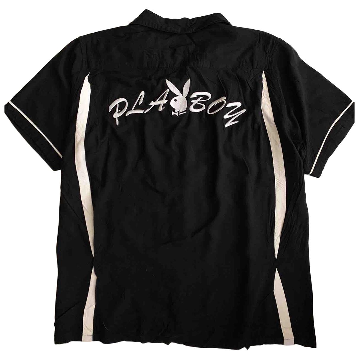 Supreme \N Hemden in  Schwarz Polyester