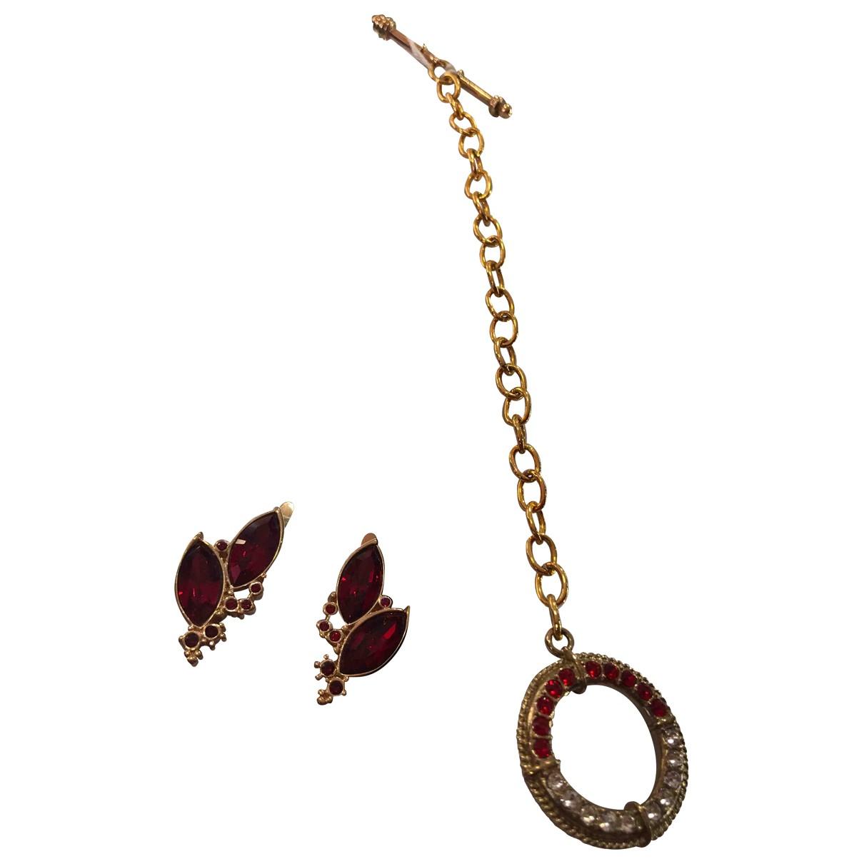 Swarovski - Parure   pour femme en cristal - rouge