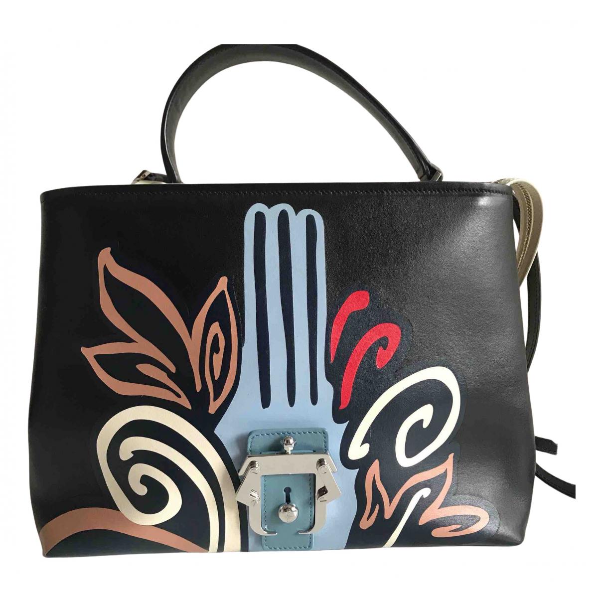 Paula Cademartori - Sac a main   pour femme en cuir - multicolore