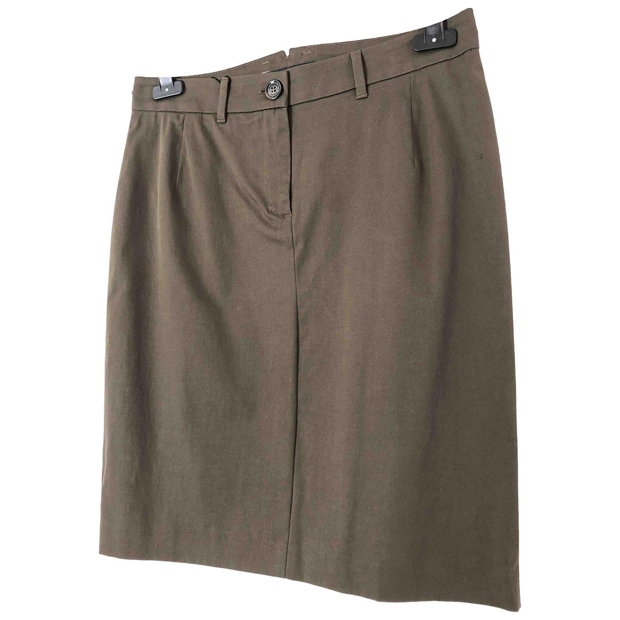 Max Mara Weekend N Khaki Cotton skirt for Women 8 UK