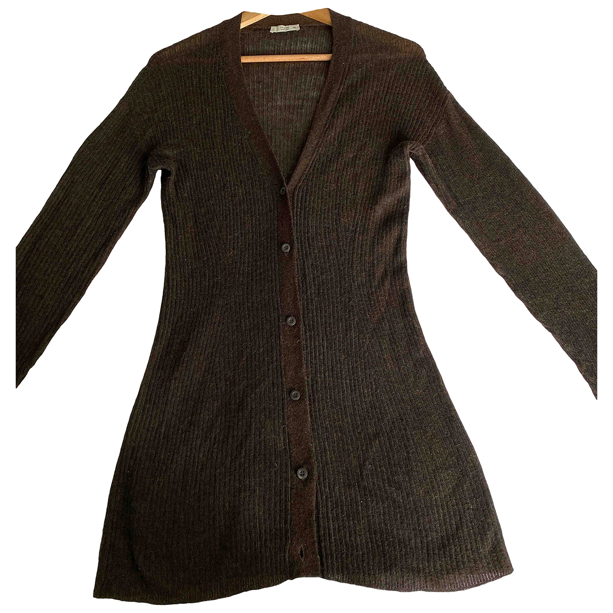 Prada \N Brown Wool Knitwear for Women 40 FR
