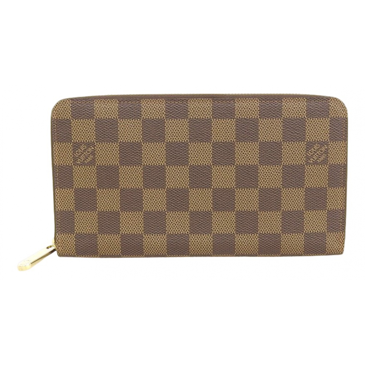 Louis Vuitton \N Brown Cloth Small bag, wallet & cases for Men \N