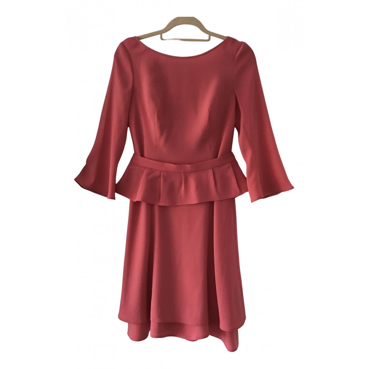 Prada \N Kleid in  Rosa Synthetik