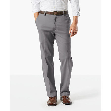 Dockers Men's Classic Fit Easy Khaki with Stretch Pants D3, 36 29, Gray