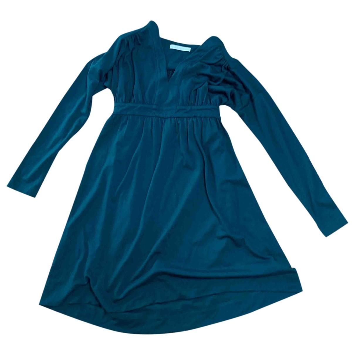 Balenciaga - Robe   pour femme en laine - vert