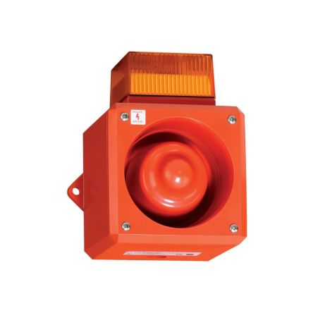Clifford & Snell YL50 Sounder Beacon Amber LED, 115 V AC
