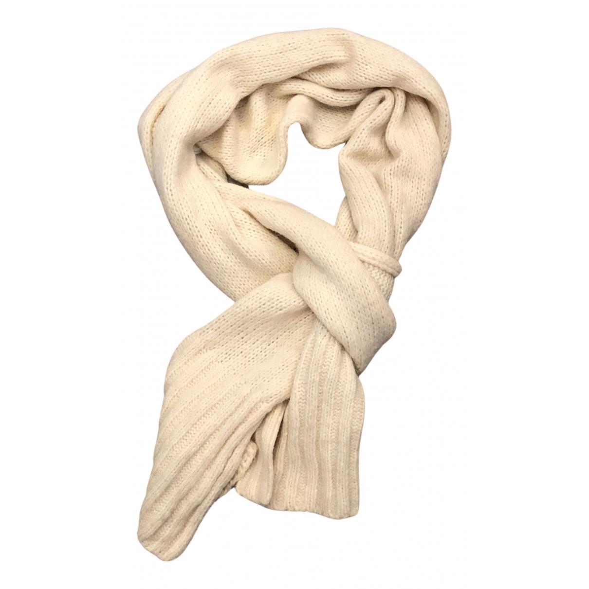 Paule Ka N Ecru Wool scarf for Women N