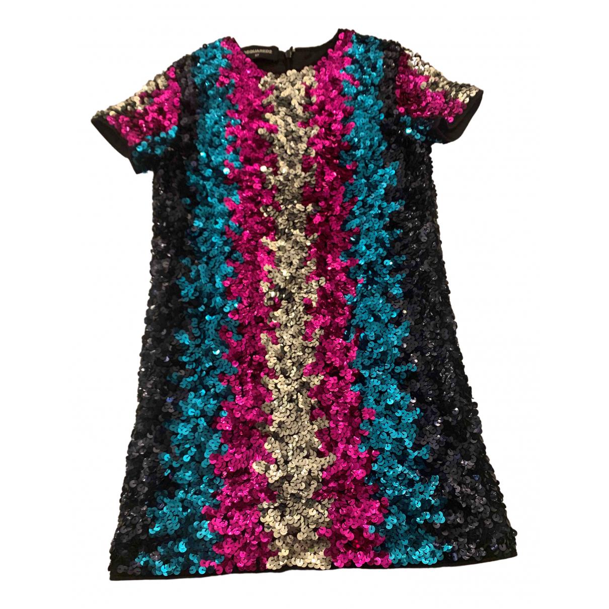 Dsquared2 \N Kleid in  Bunt Mit Pailletten