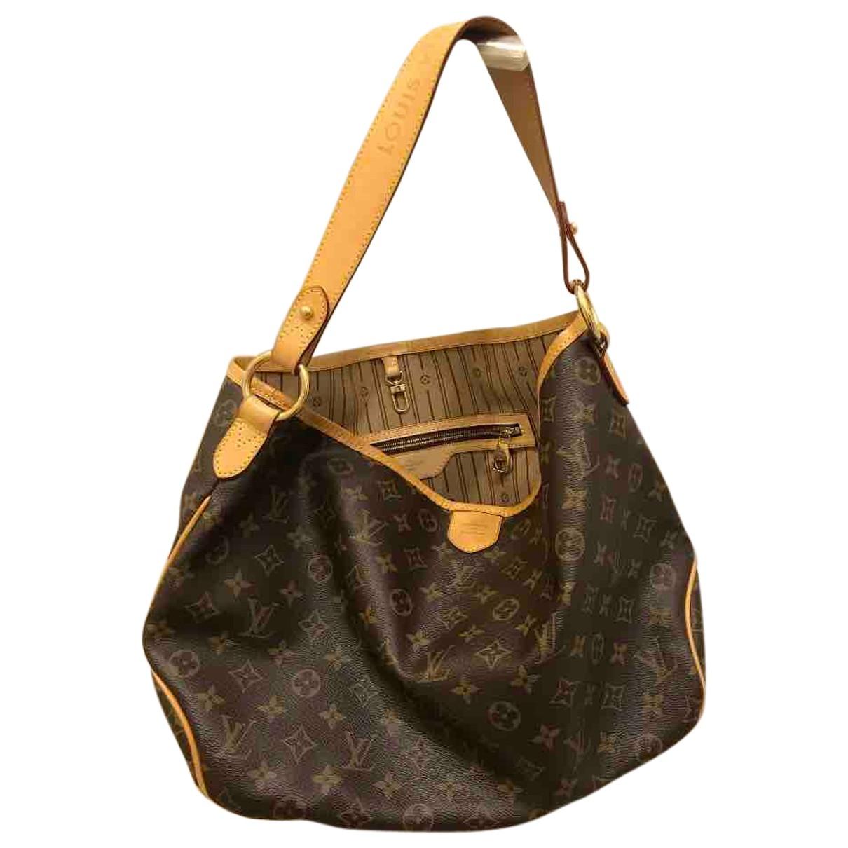 Louis Vuitton - Sac a main Delightful pour femme en toile - marron