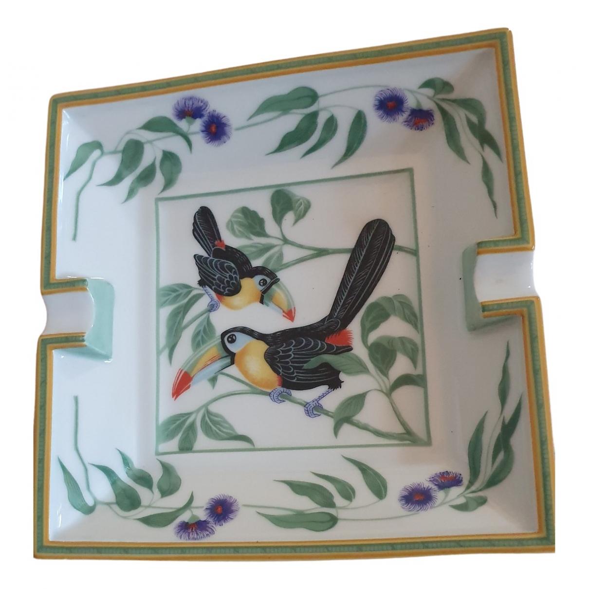 Cenicero Toucans de Porcelana Hermes