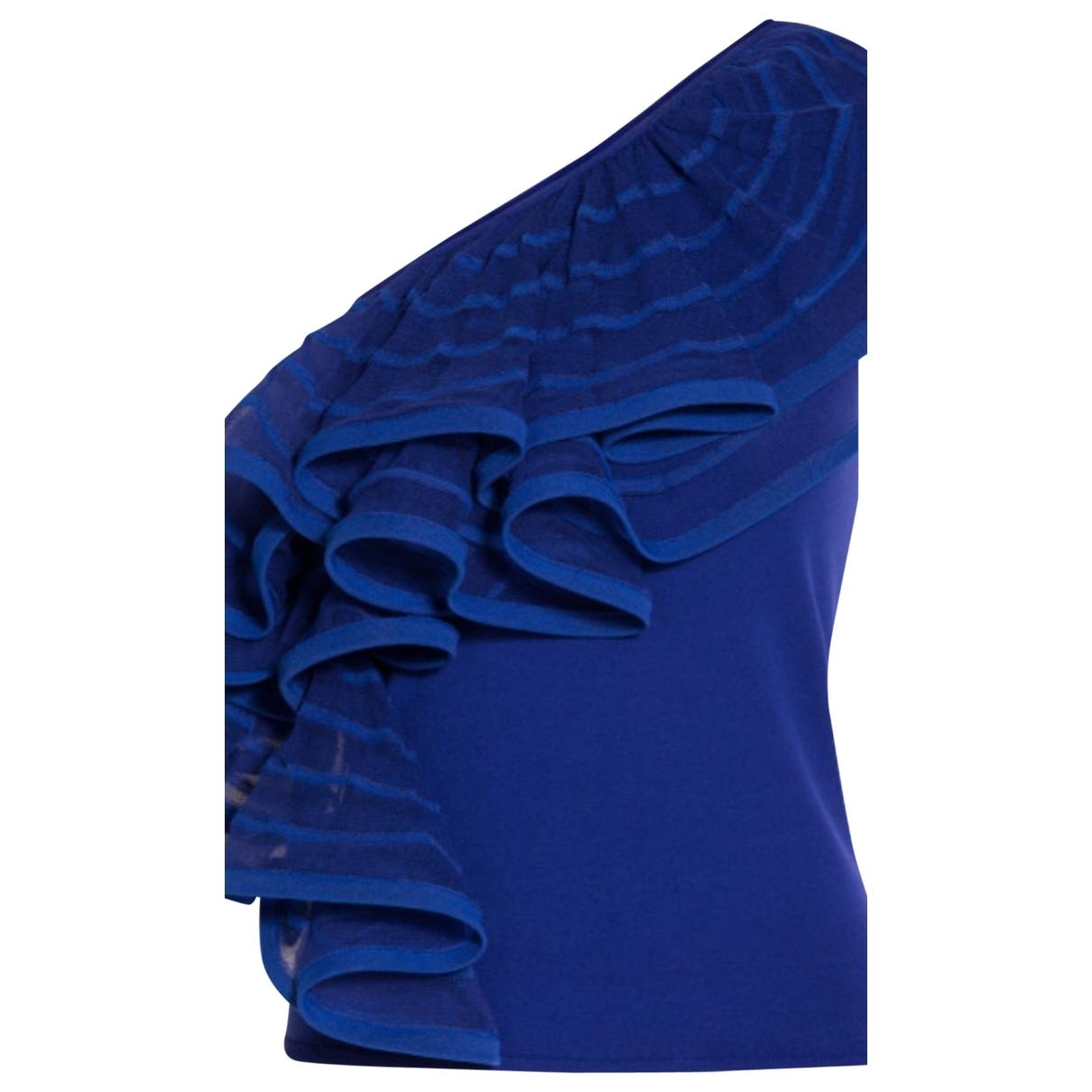 Emporio Armani - Top   pour femme - bleu