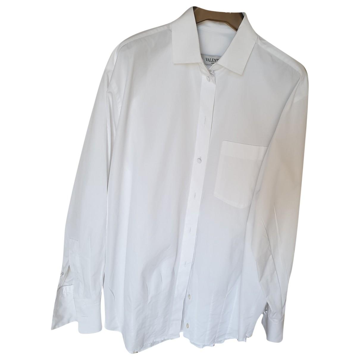 Valentino Garavani \N White Cotton  top for Women 44 IT