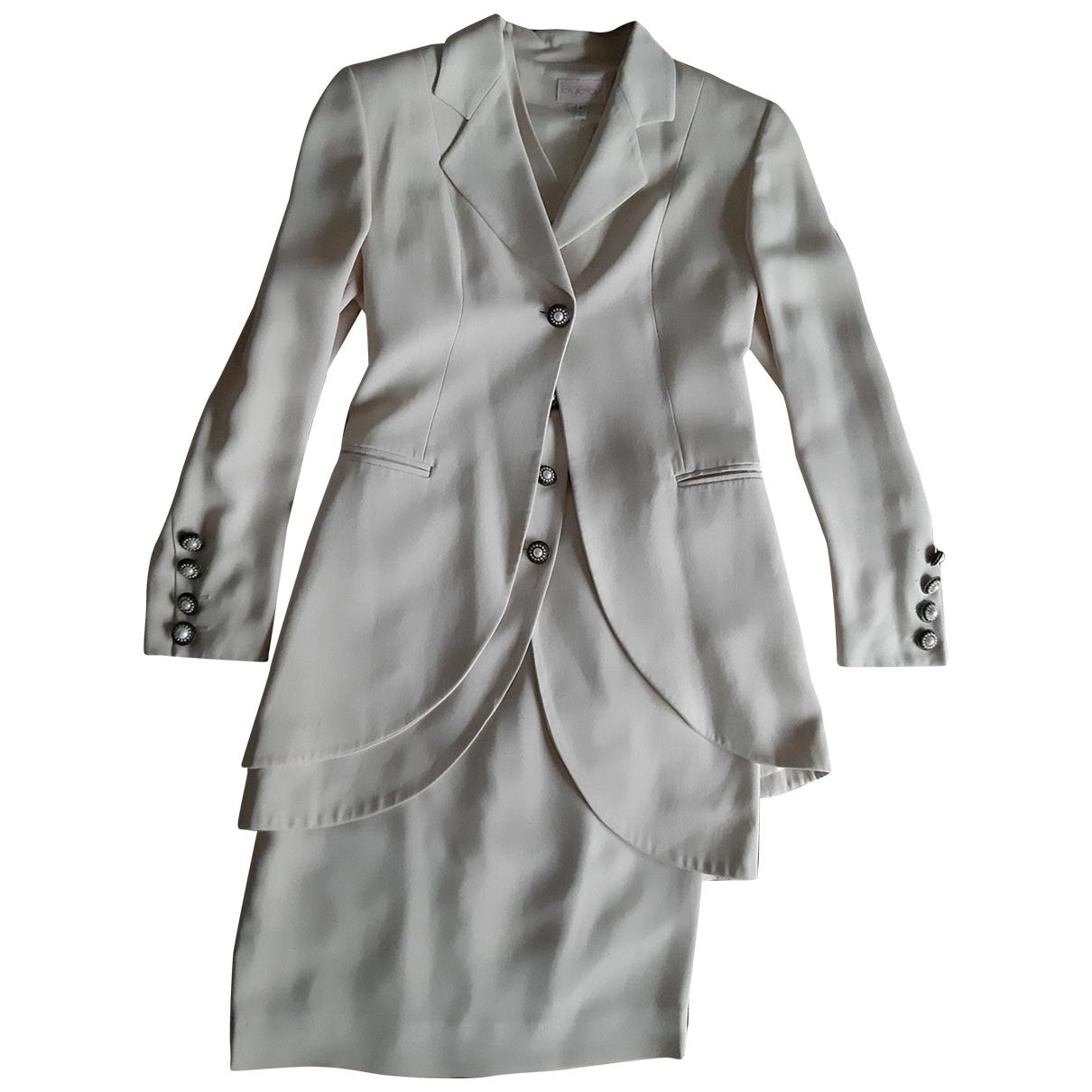 Byblos \N Ecru dress for Women 40 IT
