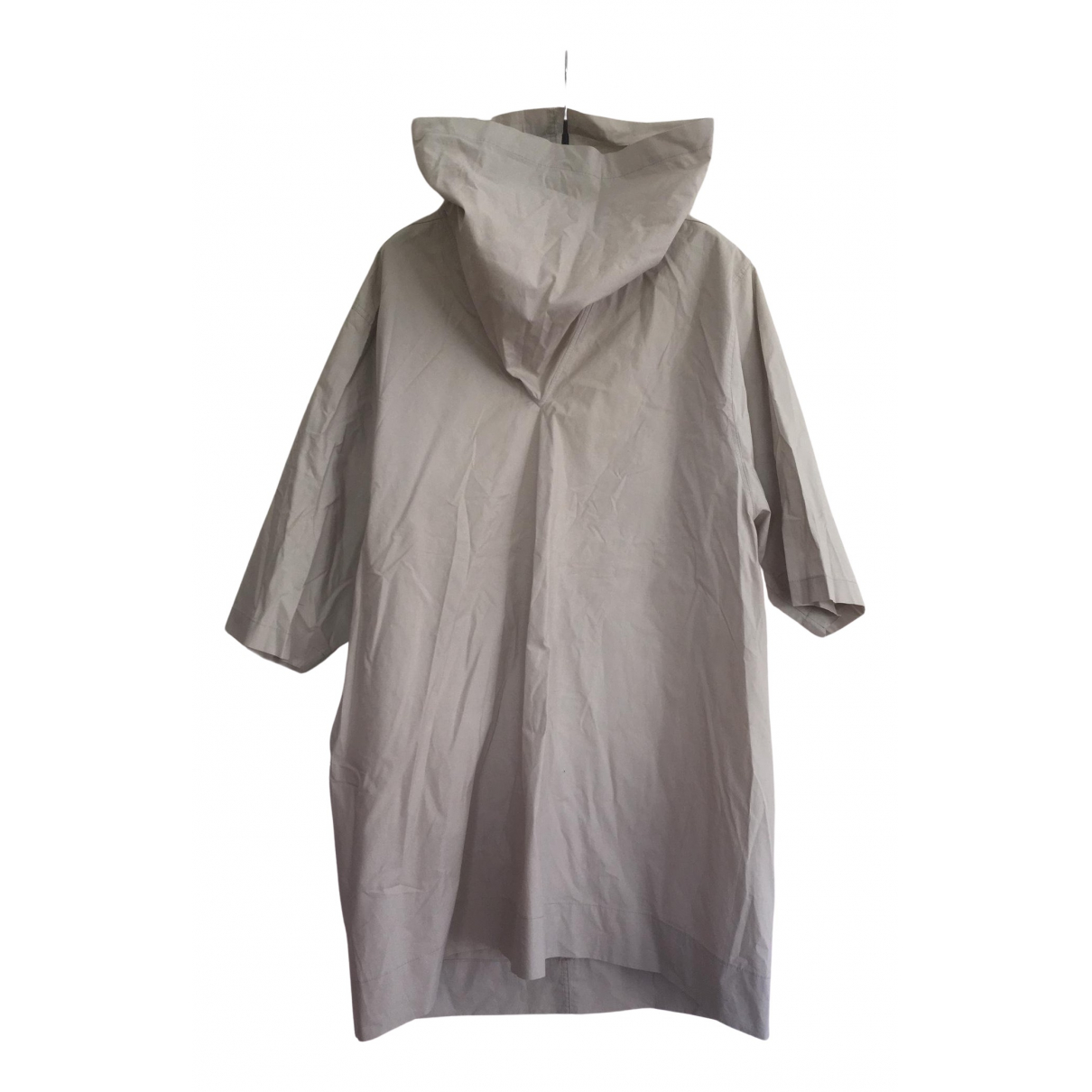 Rick Owens N Grey Cotton Shirts for Men L International
