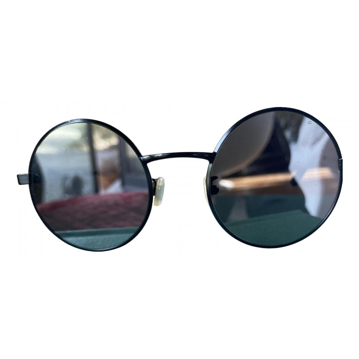 Saint Laurent N Black Metal Sunglasses for Men N